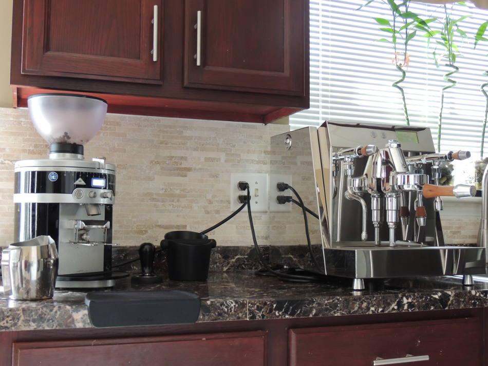 Acs Vesuvius Dual Boiler Espresso Machine Astv