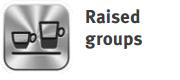 Raised Groups